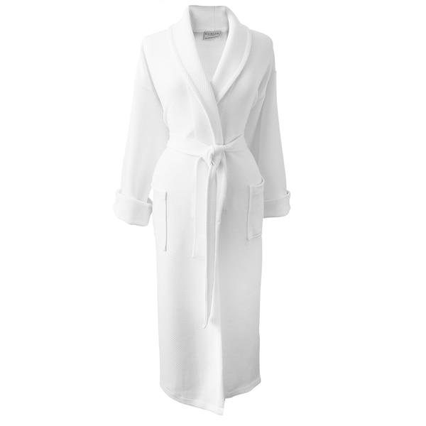 Rockwell 100-percent Organic Cotton White Medium Weight Bath Robe