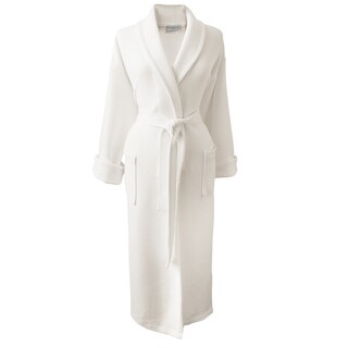 Rockwell 100-percent Organic Cotton Ivory Medium Weight Bath Robe