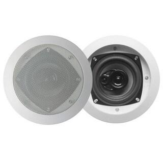 Acoustic Audio CS-IC43 In Ceiling Speaker Pair 3-way Home Theater 400 Watt CS-IC43-PR