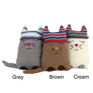 Cotton Cat Stuffed Animal/ Pillow