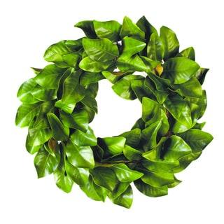 Creative Displays 28-inch Magnolia Wreath