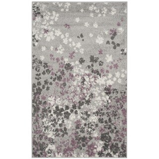 Safavieh Adirondack Light Grey/ Purple Rug (3' x 5')