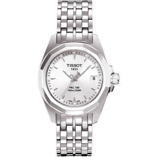 Tissot Women's T0080101103100 PRC 100 Silver Watch