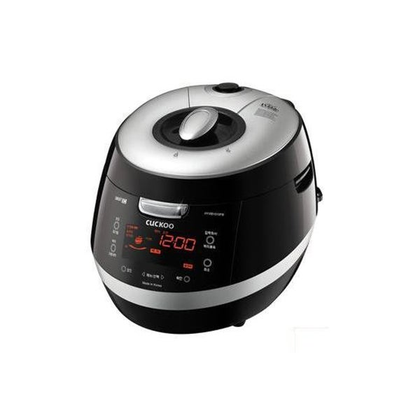 Cuckoo CRP-HZ0683F 6-Cup Induction Heating Pressure Rice Cooker, 110V (Black)