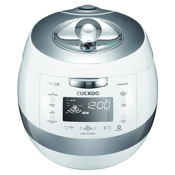 Cuckoo CRP-AHSS1009FN 10-Cups IH Pressure Rice Cooker 110v, (White) 16942967