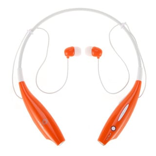 iPM Bluetooth Noise Canceling Neckband Headset with Built-in Microphone