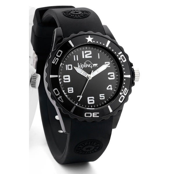Kipling Kid's Black Sports Watch