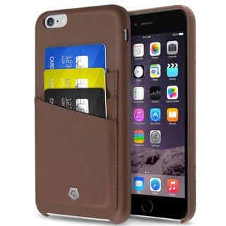 Cobble Pro Brown Leather Case Cover with Wallet Flap Pouch For Apple iPhone 6 Plus/ 6s Plus