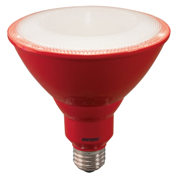 8-watt Red LED PAR38 Bulb