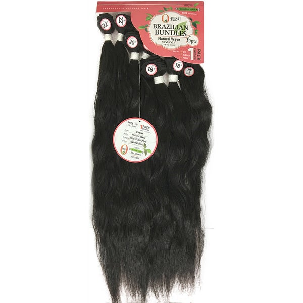 Remy Unprocessed Brazilian Natural Wave Virgin 100-percent Human Hair (7-piece Set)