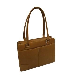 Piel Leather Hardside Shoulder Briefcase
