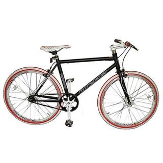 Micargi RD-248 40cm Black Fixed Gear Road Bike