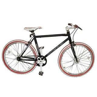 Micargi RD-248 40cm Black Fixed Gear Road Bike