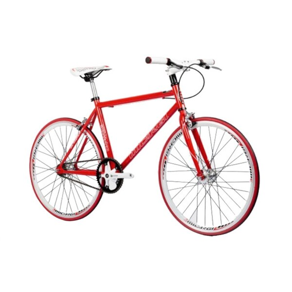 Micargi RD-248 40cm 24-inch Red Fixed Gear Road Bike