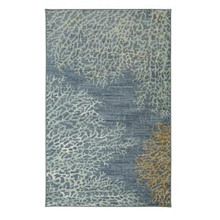 Mohawk Home Strata Coral Reef Printed Rug (8'x10')