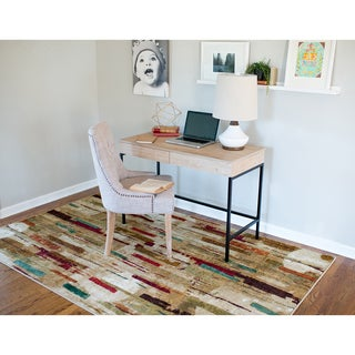 Mohawk Home Strata Facets Printed Rug (8'x10')