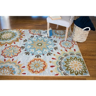Mohawk Home Strata Global Goddess Printed Rug (8'x10')