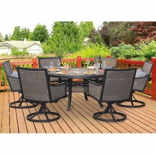 Sunjoy La Jolla 7-piece Dining Set