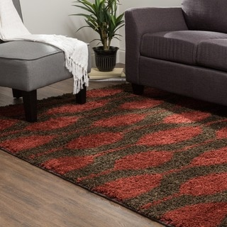 Mohawk Home Calistoga Knotted Lines Woven Rug (8'x10')