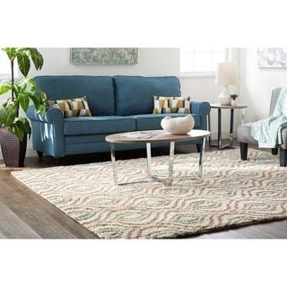 Mohawk Home Laguna Ogee Waters Woven Rug (8'x10')