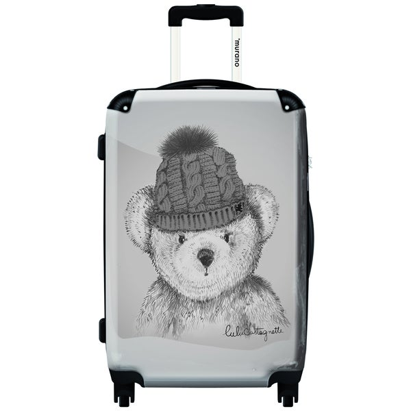Murano My Bear Is Cold 20-inch Carry On Hardside Spinner Suitcase