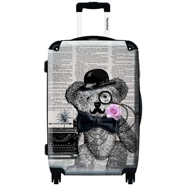 Murano Be Serious 20-inch Carry On Hardside Spinner Suitcase