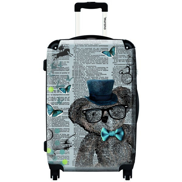 Murano Lets Play 20-inch Carry On Hardside Spinner Suitcase