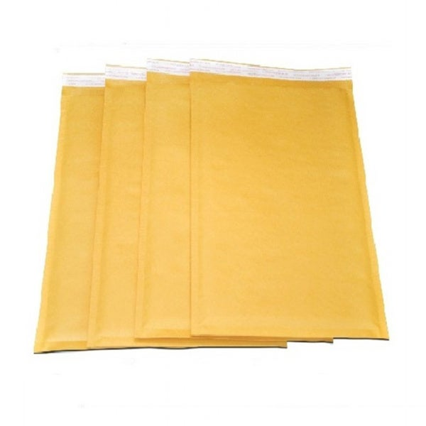 Size 0 Self-seal Brown Kraft Bubble Mailers 6.5 x 10 Padded Envelopes (Pack of 2000)