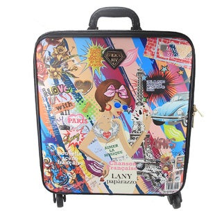 LANY City Chic 16-inch Carry On Spinner Travel Suitcase