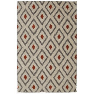 Mohawk Home Laguna Tribal Diamond Woven Rug (8'x10')