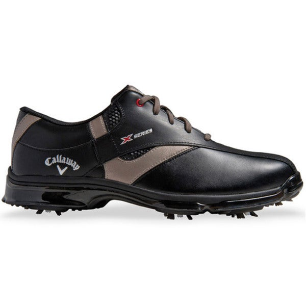 Callaway Mens X Nitro Golf Black Shoes