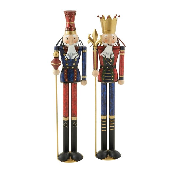 Assorted Metal Thin Nutcrackers (Set of 2)
