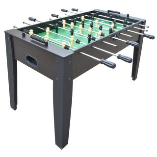Hurricane 54-inch Dark Walnut Foosball Table