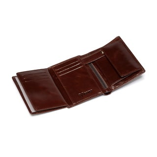 Marco Distressed Trifold Leather Wallet