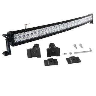 Curved Work Off road 240W 40-inch LED Light Bar Combo Beam for Truck, Boat, SUV, ATV