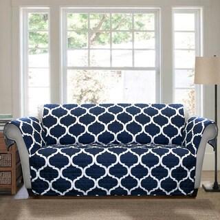 Lush Decor Geo Loveseat Furniture Protector