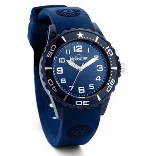 Kipling Boy's/ Girl's Blue Sports Watch