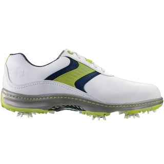 FootJoy Contour Series Golf Shoes 2015 CLOSEOUT White/Lime/Navy
