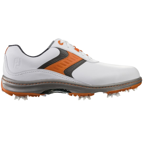 FootJoy Contour Series Golf Shoes 2015 CLOSEOUT White/Orange/Grey