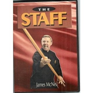 Chinese Shaolin Kung Fu Weapon Series Long Staff Pole DVD James McNeil