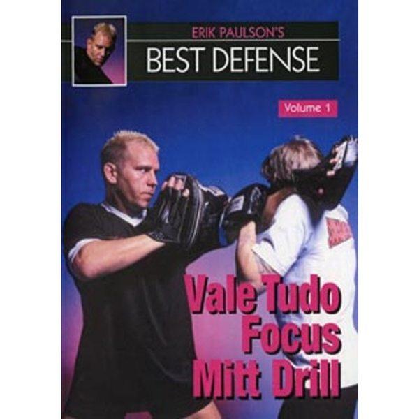Erik Paulson Best Defense #1 Vale Tudo Focus Mitt Drills DVD MMA shoot wrestling thumbnail