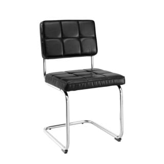 Oh! Home Wendy Chairs - Black (Set of 2)