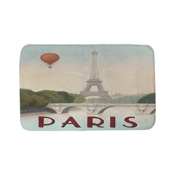Thumbprintz City Skyline Paris Bath Mat