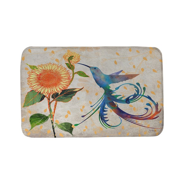 Thumbprintz Daisy Hum Neutral Bath Mat