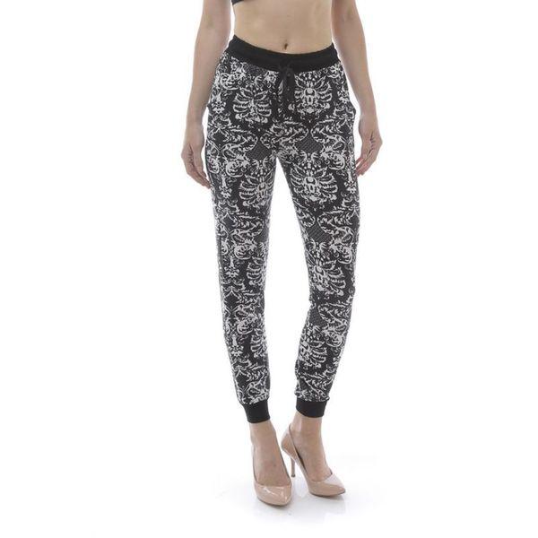Soho Women Traditional Floral Print Jogger Pants