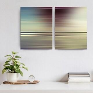 Ready2HangArt 'Blur Stripes XLVI' 3-PC Canvas Wall Art Set