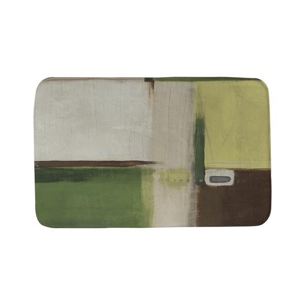 Thumbprintz Green Field 1 Bath Mat