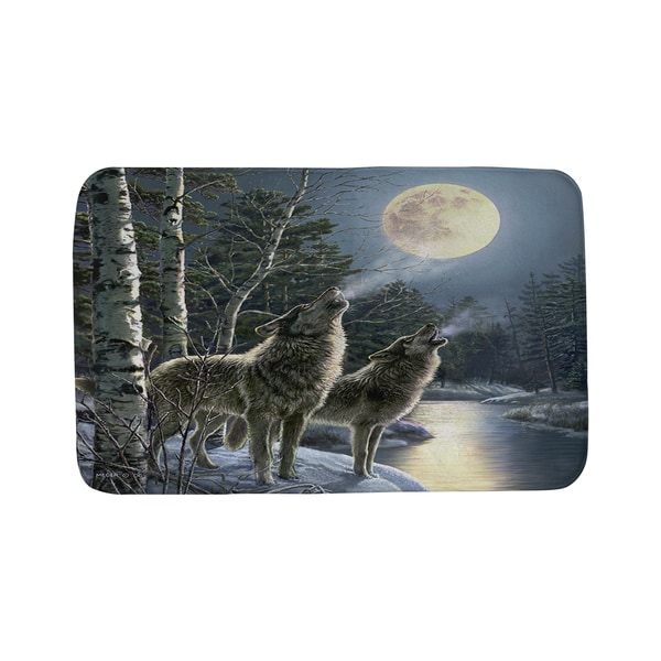 Thumbprintz Howling Bath Mat