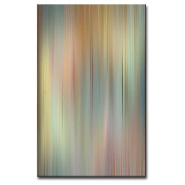 Ready2HangArt 'Blur Stripes II' Canvas Wall Art