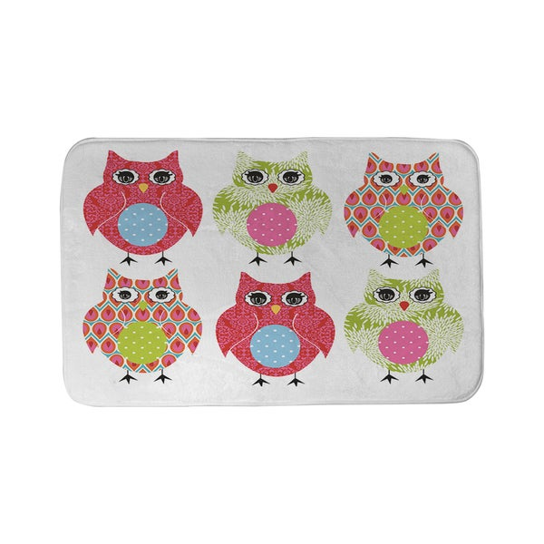 Thumbprintz Owls Bath Mat